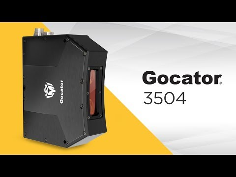 Introducing Gocator 3504 High-Resolution Industrial Snapshot Sensor