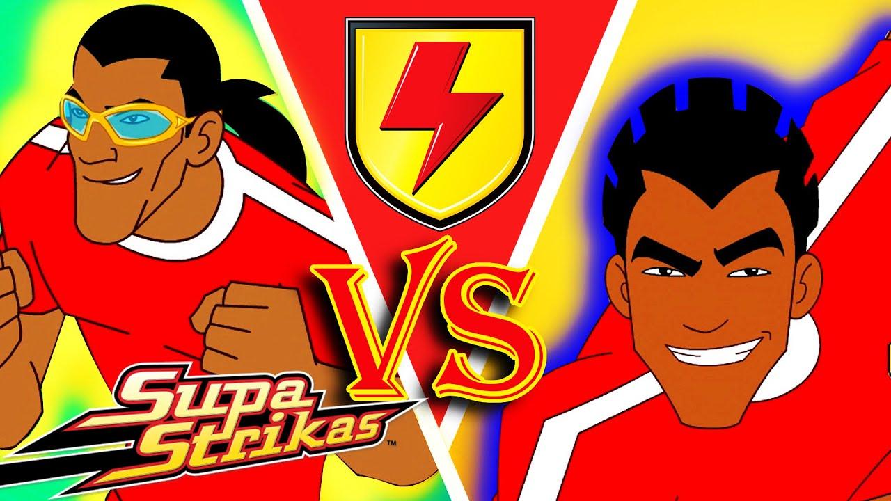 Shakes Vs El Matador Highlights S1 Supastrikas Soccer Kids Cartoons Super Football Animation Youtube