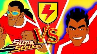 SHAKES vs EL MATADOR - Highlights S1  SupaStrikas Soccer kids cartoons  Super Football Animation