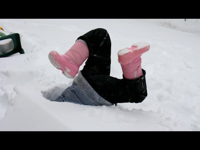 Кога снегот не ни оди во прилог – смешна компилација