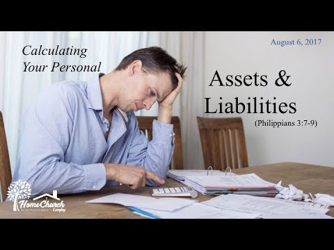 2017-08-06 Assets & Liabilities (Philippians 3:7-9)