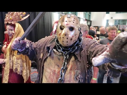 Son of Monsterpalooza ON Friday The 13th - Horror Convention in Burbank / 2019 Halloween Kick Off
