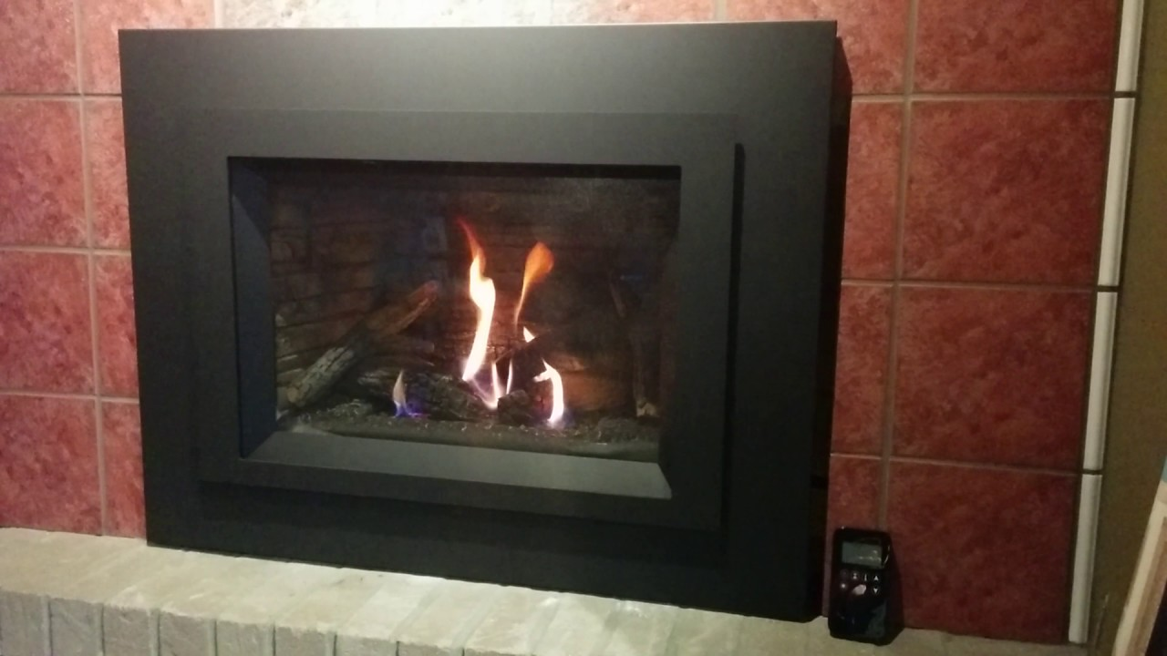 pacific energy tofino gas fireplace insert youtube