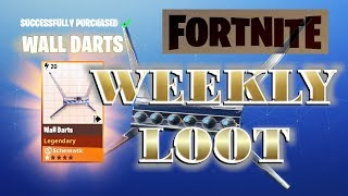 Fortnite : Loot ~ Events - Weekly Items [Daily Coins]