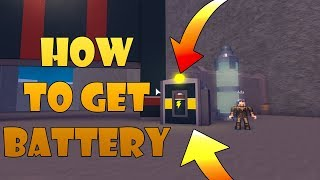 How To Get The Battery! Space Mining Tycoon Roblox