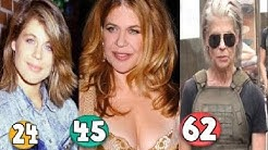 Linda Hamilton ♕ Transformation From 24 To 62 Years OLD