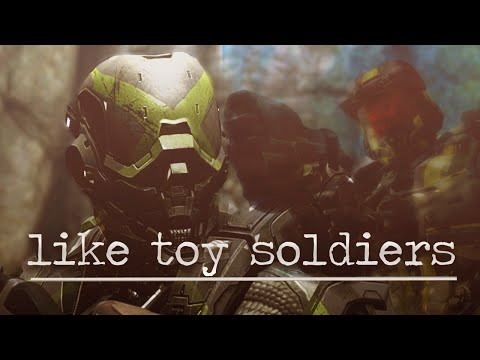 Agent Washington & Locus Red vs. Blue  Like Toy Soldiers AMV