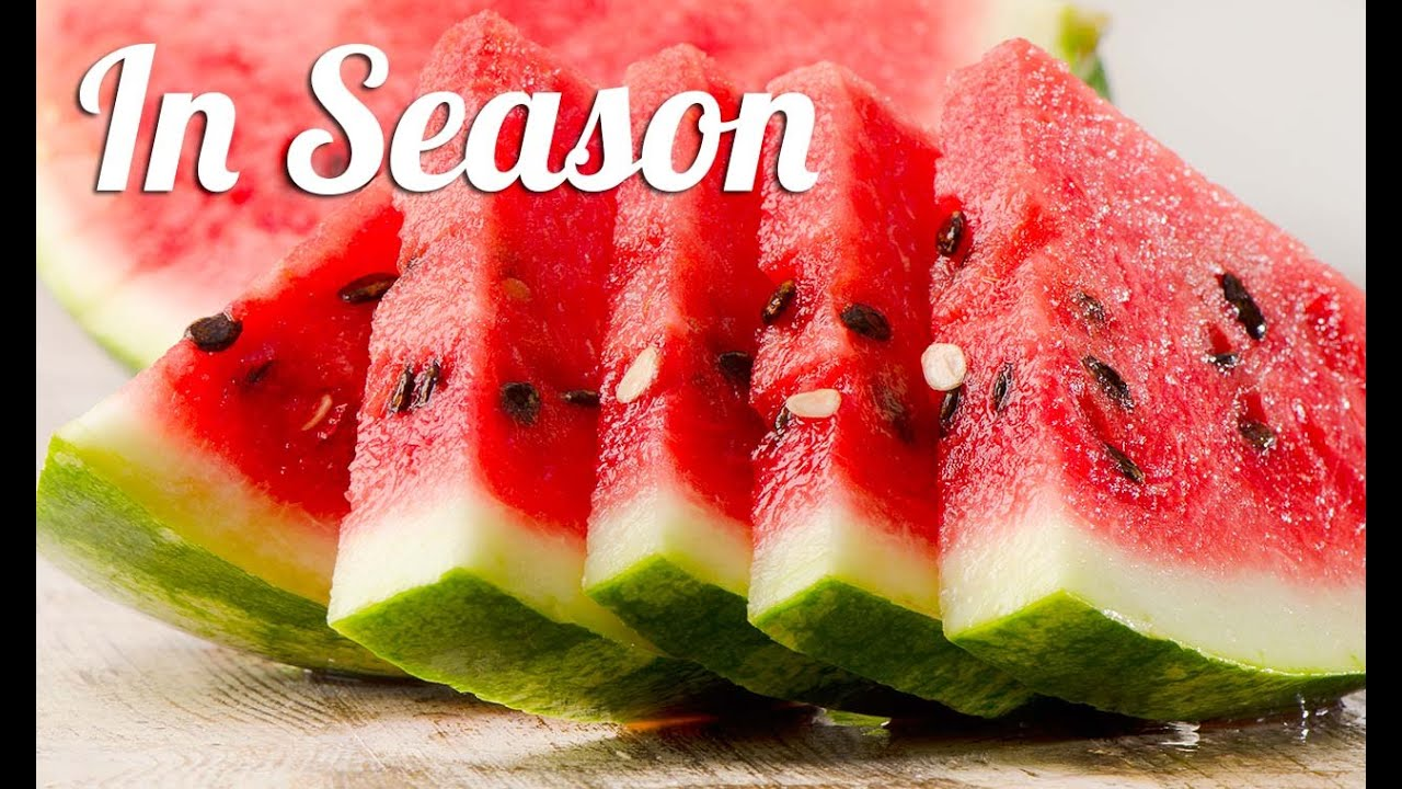 3 Watermelon Recipes In Season Youtube