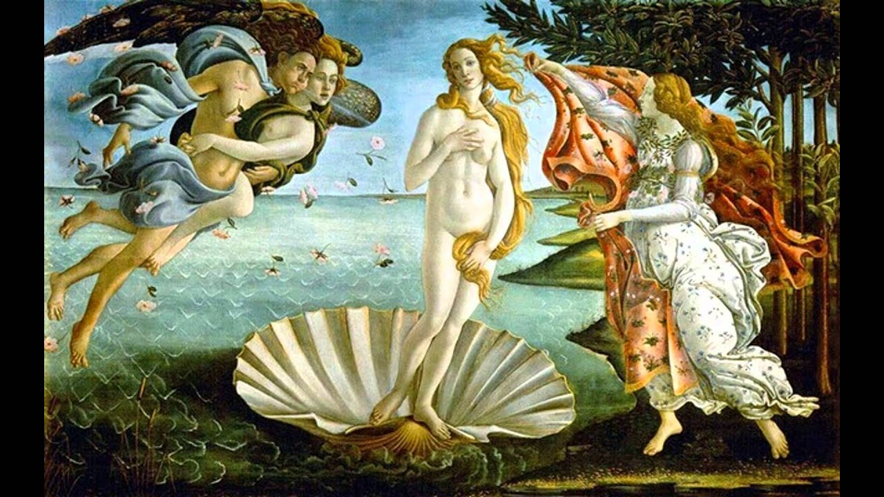 Art Compare and Contrast - Birth of Venus and Raphael's Galatea