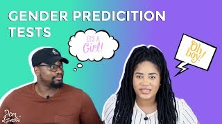 TRYING GENDER PREDICTION TESTS!!! (GIRL OR BOY?)