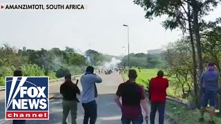 Armed South African citizens fire on citizens during chaotic unrest