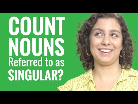 Ask a Hebrew Teacher -  Why Are Some Count Nouns Referred to as Singular?