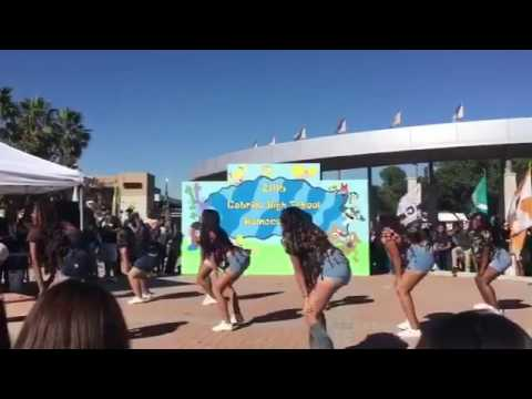 Cabrillo high school drill team at the homecoming fair 2016-2017