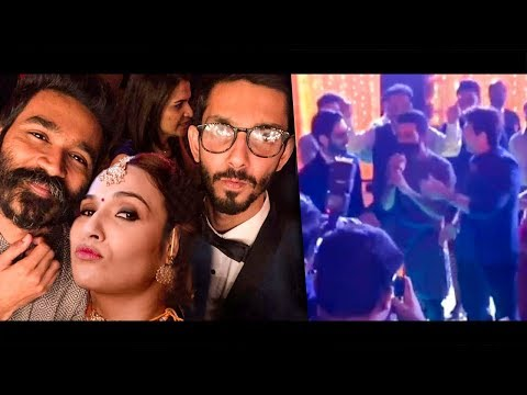 KOLAVERI Dance By Dhanush & Anirudh at Soundarya Rajinikanth & Vishagan Marriage | Reception Video