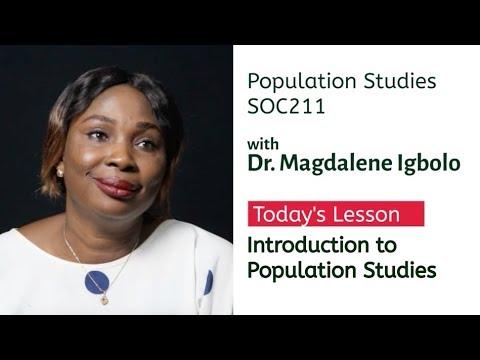 UniAbuja CDL&CE SOC211 - 1 | Introduction to Population Studies