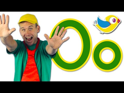 The Letter O Song - Learn the Alphabet