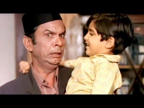 Johny Walker, Mala Sinha, Sanjog - Comedy Scene 12/28