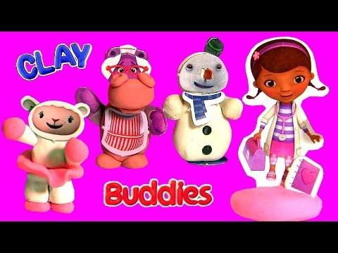 Massinha Clay Buddies Surpresa Doutora Brinquedos Desenho Da