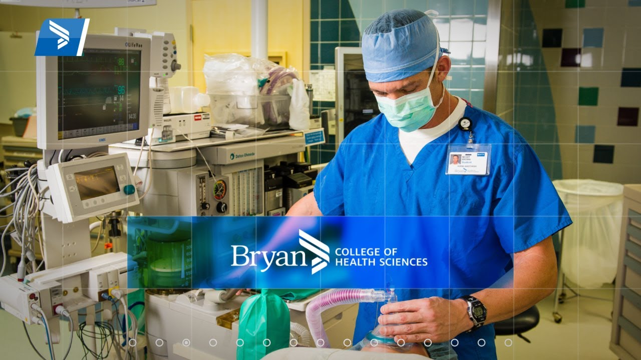 Doctor Of Nurse Anesthesia Practice At Bryan College Of Health
