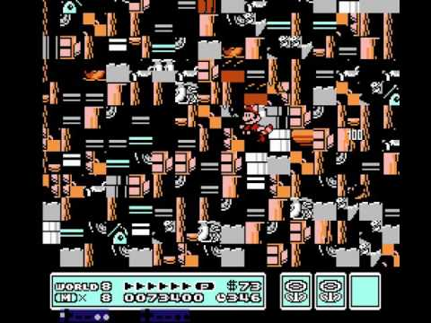 "[TAS] NES Super Mario Bros. 3 ""arbitrary code execution"" by Lord To[...] in 08:16.23 - Input display"