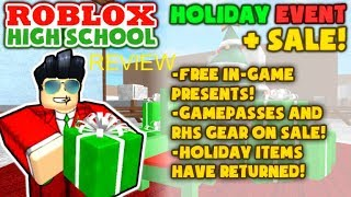 ROBLOX High School Holiday Event 2017-18 Review