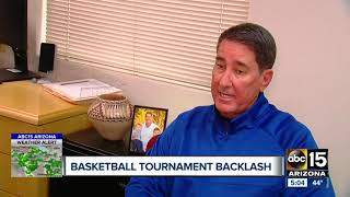 Basketball championship back on after AIA cancels games in Prescott Valley for backlash over weather