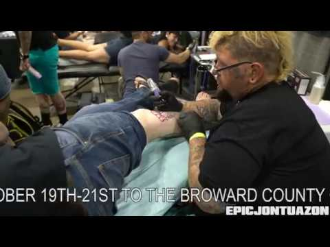 Fort Lauderdale Tattoo Arts Convention 2018 Promo - YouTube