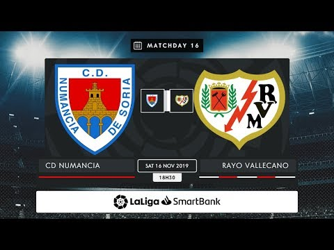 CD Numancia - Rayo Vallecano MD16 S1830
