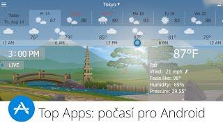 Top Apps: počasí pro Android