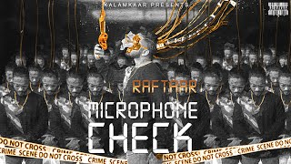 RAFTAAR - MICROPHONE CHECK | BAR'ISH EP | Official Music Video
