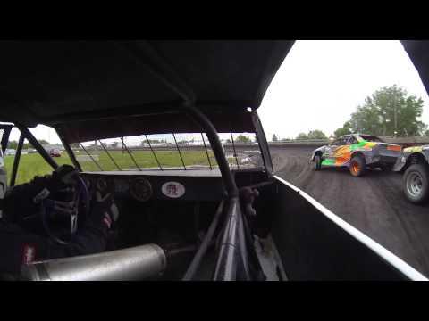 Kevin Opheim heat at Algona Raceway