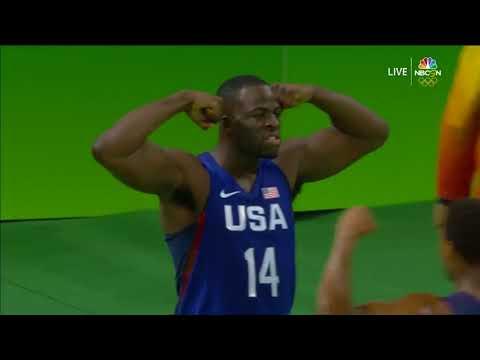 USA vs Australia   Full Game Highlights   Rio 2016 Olympics Basketball   Group A
