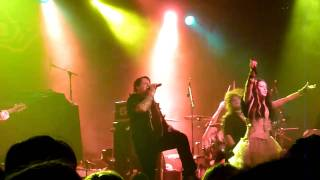 Visions Of Atlantis   Memento 1er Partie Rhapsody Of Fire Paris 2011