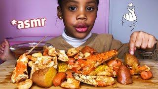 ASMR SEAFOOD BOIL BEER & SPICES┃à manger sans modération