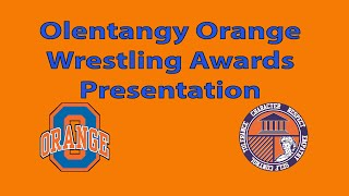2020 Olentangy Orange Wrestling Awards Program