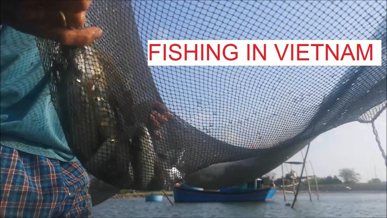 Beautiful Vietnam | Experience fishing with a fishman in Phan Rang, Ninh Thuan, Vietnam