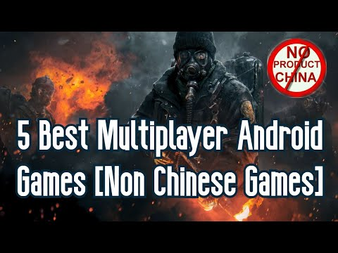 Top 5 Multiplayer Non Chinese Android Games | Underrated Android Games