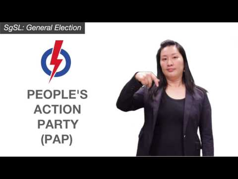 SgSL: General Election - People's Action Party (PAP)