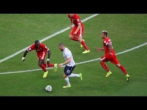 France 5 - 2 Switzerland  : World Cup 2014
