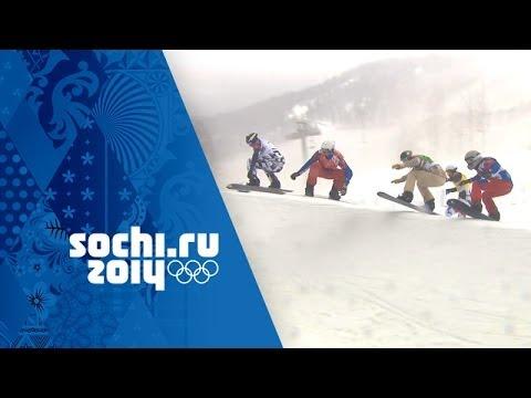 Amazing Big Final - Pierre Vaultier Wins Snowboard Cross Gold | Sochi 2014 Winter Olympics