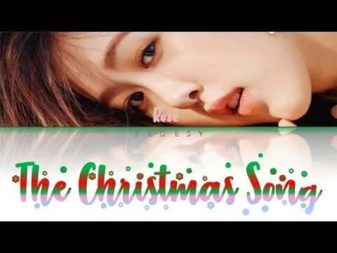 BLACKPINK ROSÉ - THE CHRISTMAS SONG (Nat King Cole COVER) (Color Coded Lyrics Eng) - YouTube