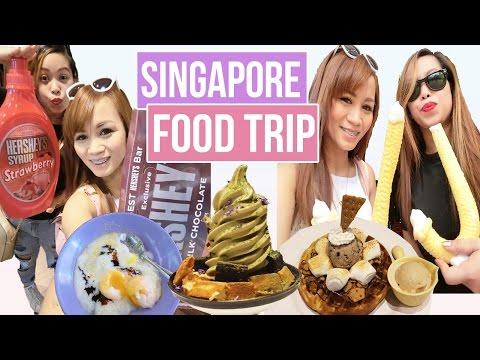 Vlog : FOOD TRIP SA SINGAPORE + KOREA TOWN! (SG EP. 3)