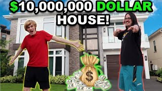 New $10,000,000 Three-Story Mansion Tour!