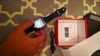 Unboxing From Amazon Smart Watch Compatible Samsung Android iPhone iOS