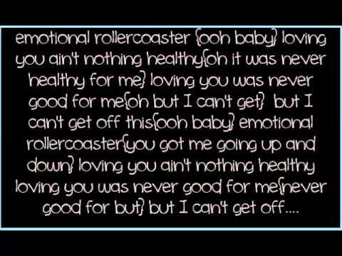 "Vivian Green ""Emotional Rollercoaster"""