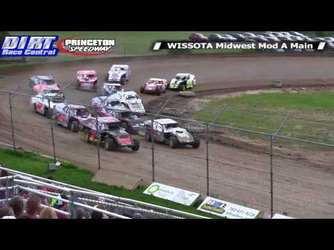 Princeton Speedway 6/27/14 WISSOTA Midwest Modified Races