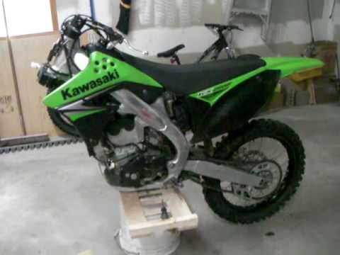 how to change fork seals on a kx65
