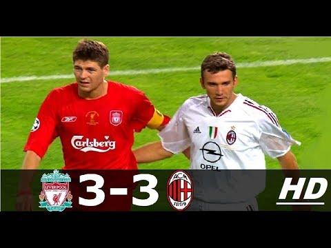 Liverpool FC Vs AC Milan 3-3 Pens(3-2) UCL Final 2005 // Highlights English Commentary HD