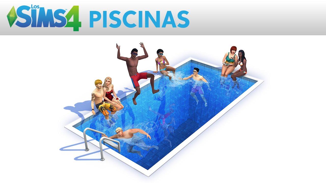 Los sims 4 piscinas trailer oficial youtube for Piscina sims 4