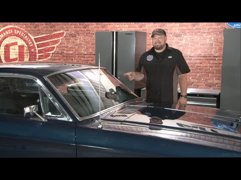 Mustang Windshield 1965 1968 Installation Youtube